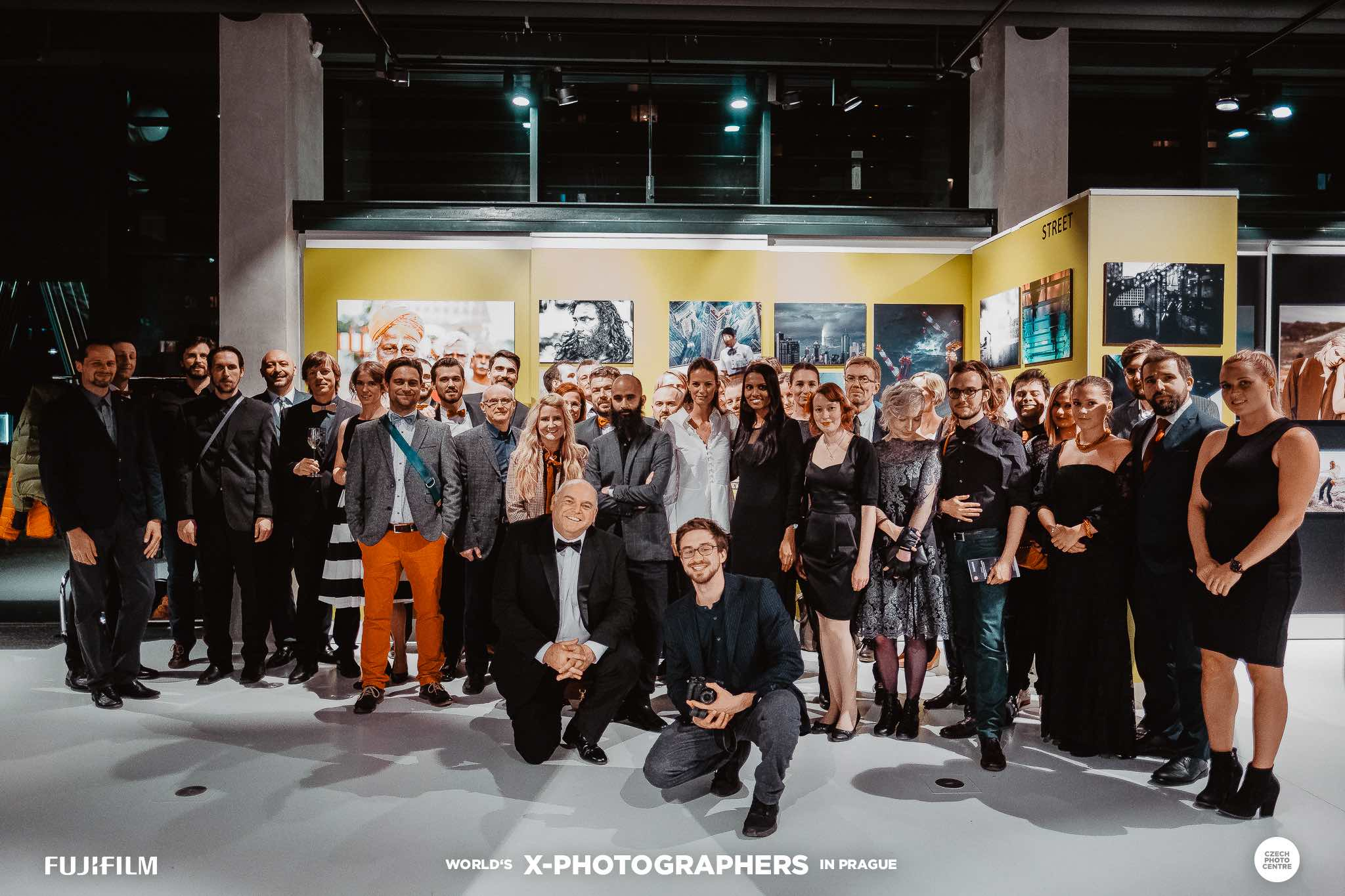 FUJIFILM World X-Photographers czech republic prague photography exhibition opening