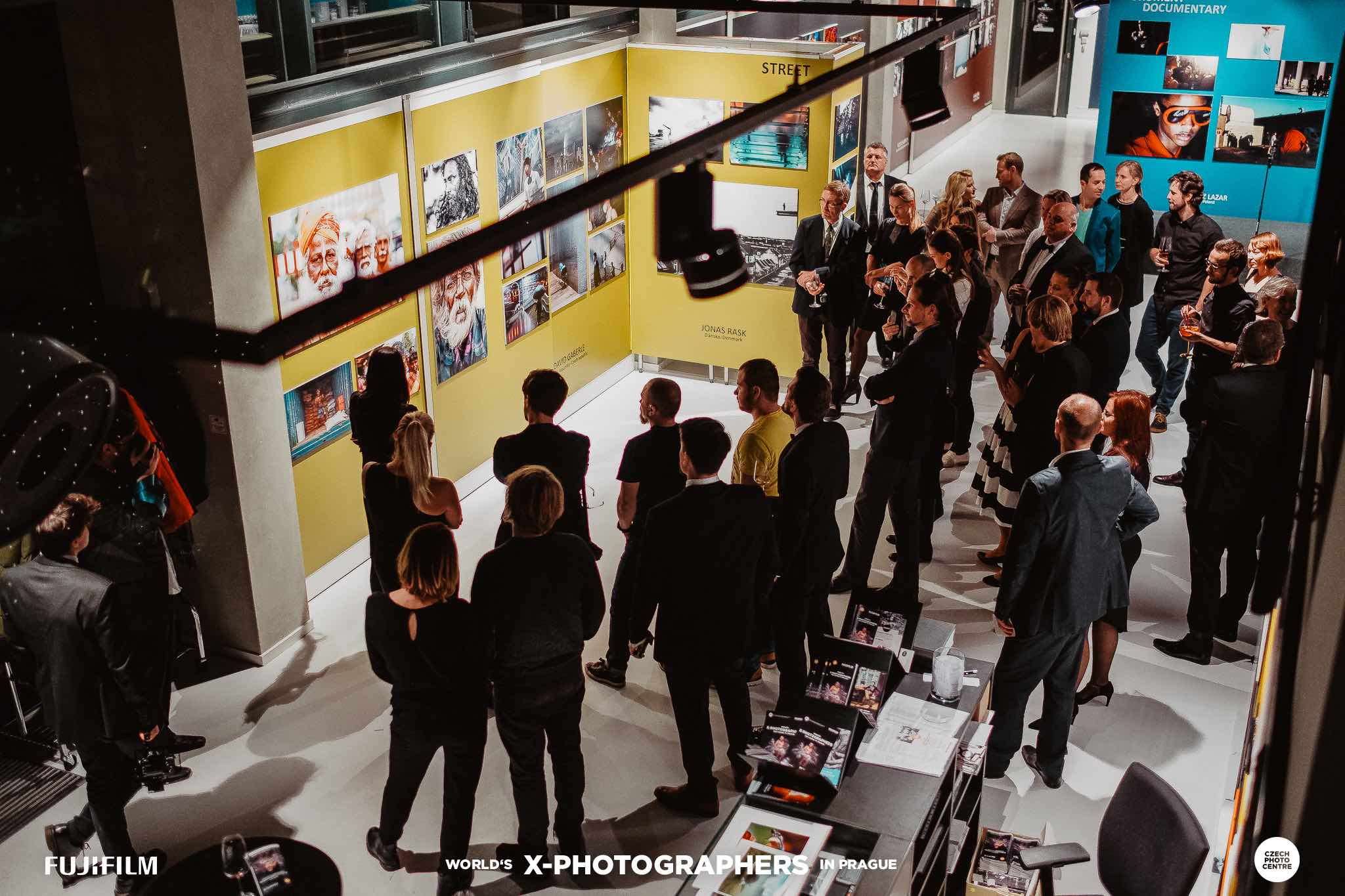 FUJIFILM World X-Photographers czech republic prague photography exhibition opening
