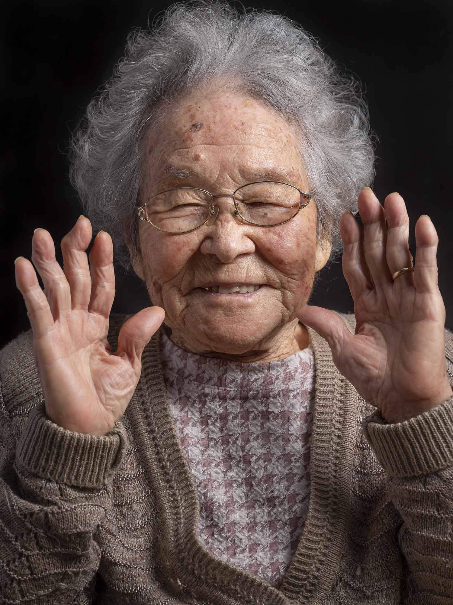 okinawa longevity centenarians people japan portrait photography project