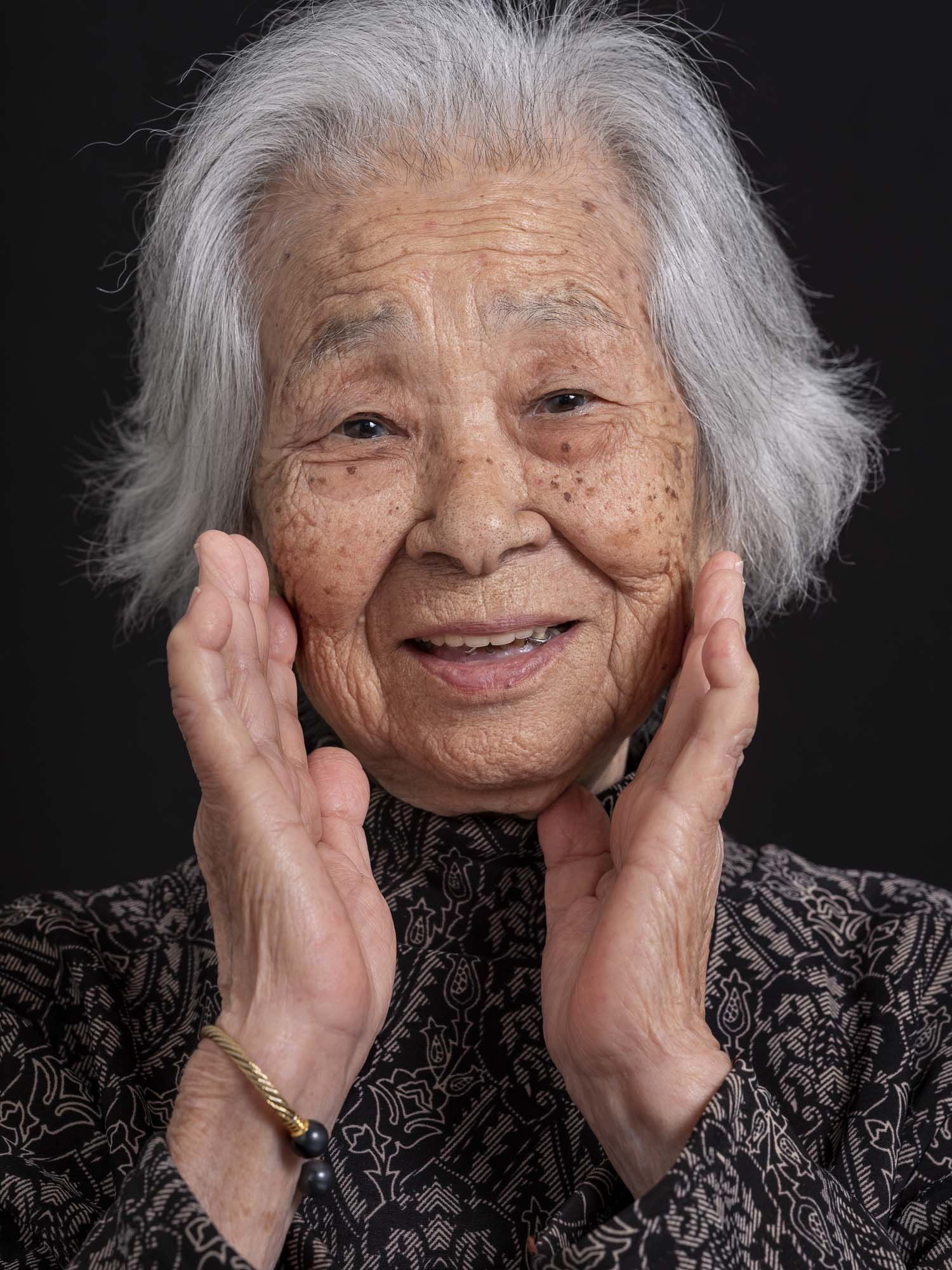okinawa longevity centenarian people japan portrait photography project health