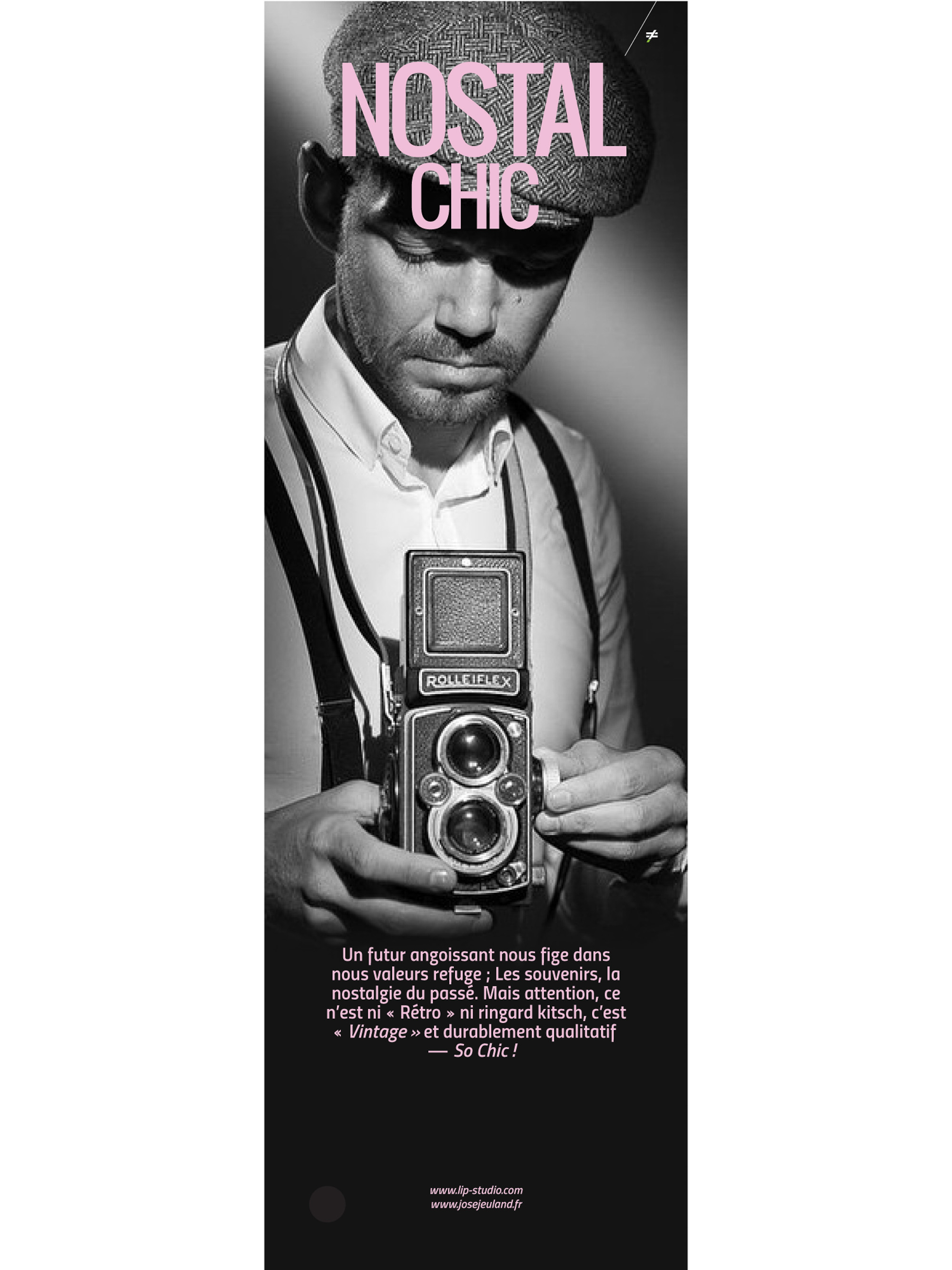 Nostalgic chic autrement jose jeuland film camera