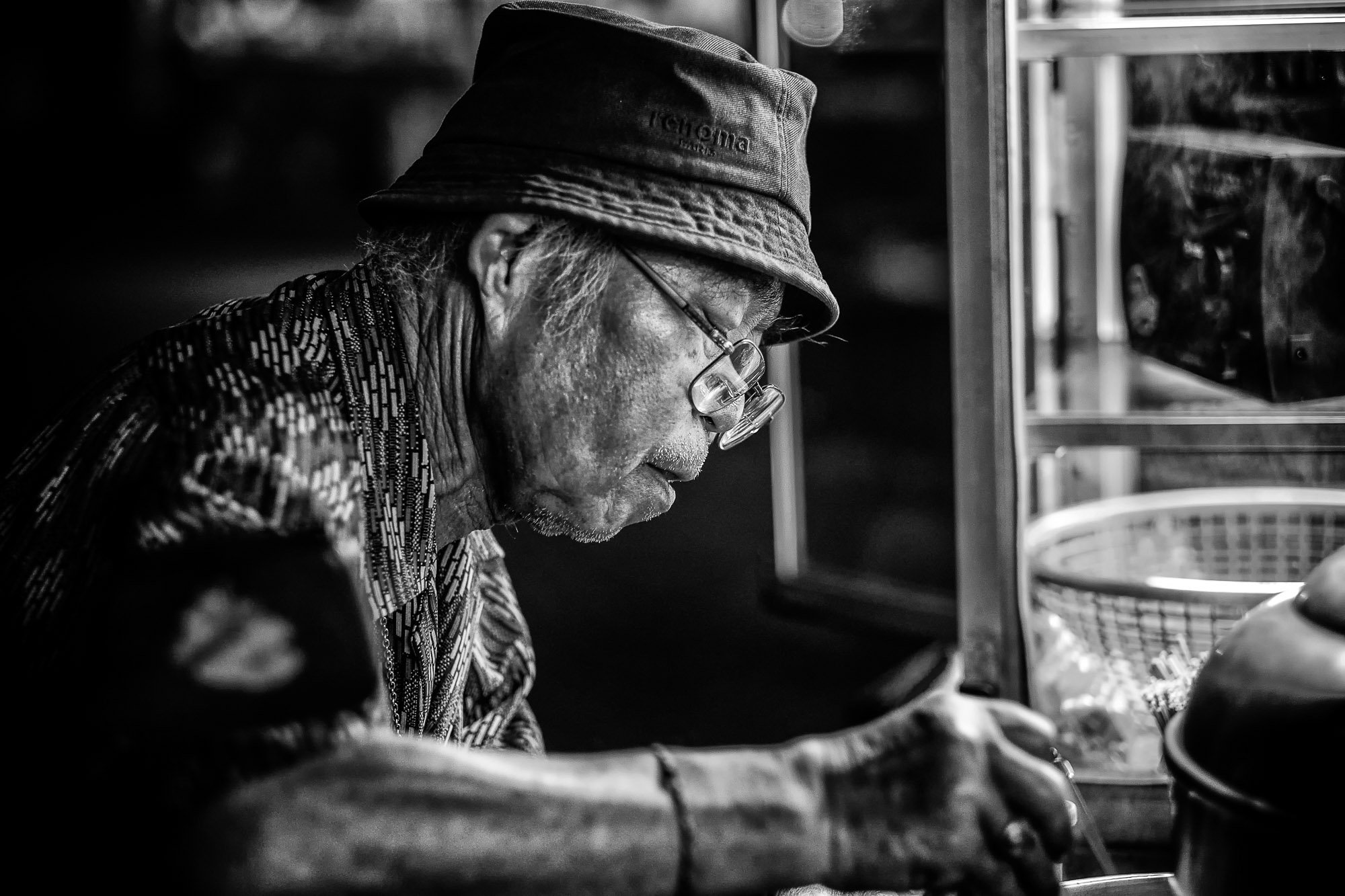 CHIANG MAI thailand asia street photography portrait food truck