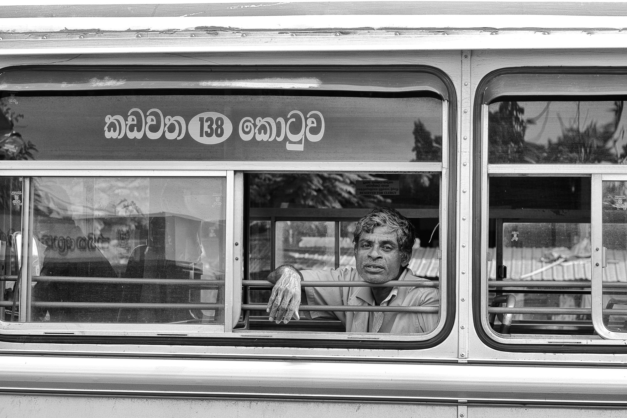 COLOMBO sri lanka street photography man bus