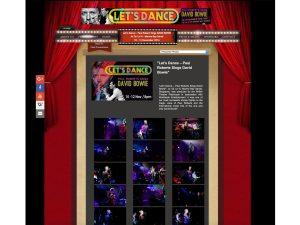 Concert Paul roberts singapore david bowie jose jeuland CE LA VI british theatre playhouse