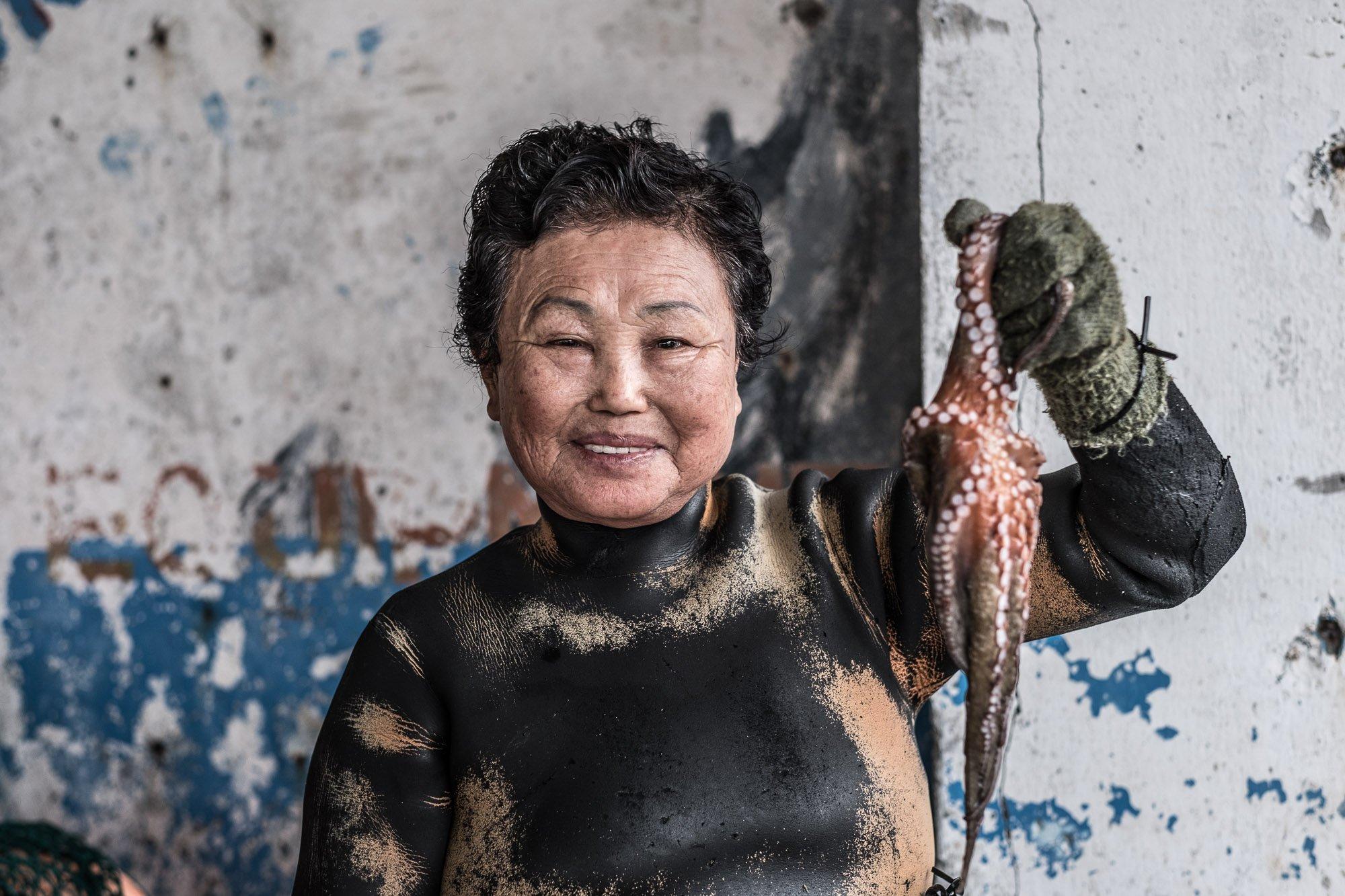 Haenyeo Jeju island photography korea Jose Jeuland