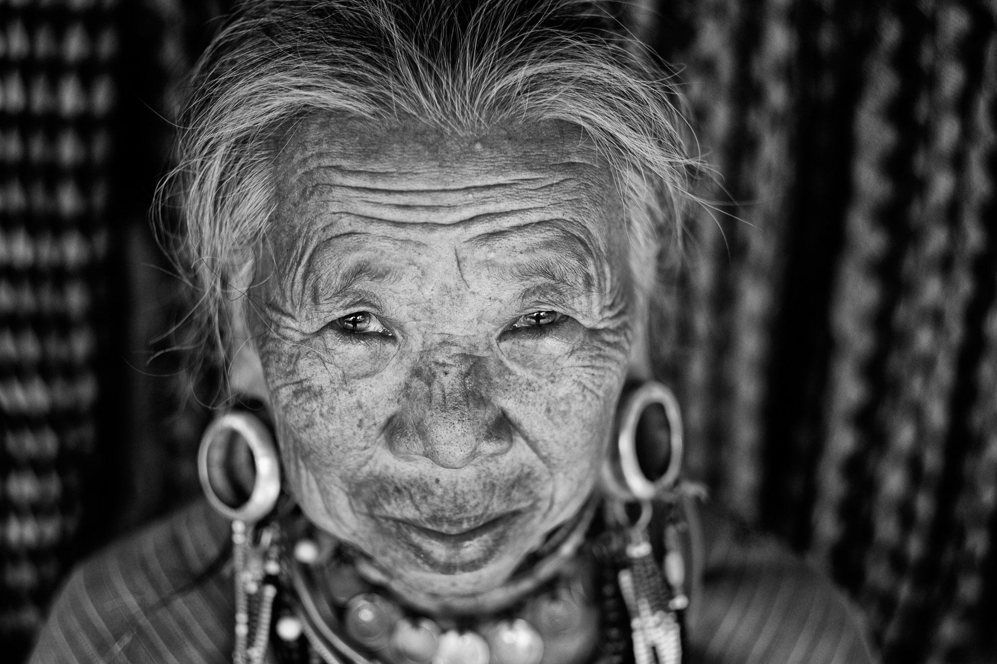 Travel, Documentary, Hill Tribe, Thailand, Photograph portrait