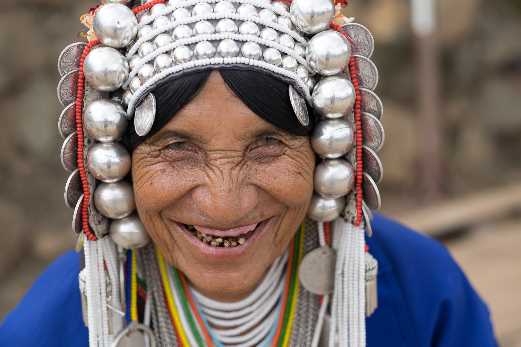 Travel, Documentary, Hill Tribe, Thailand, Photography women portrait smiling