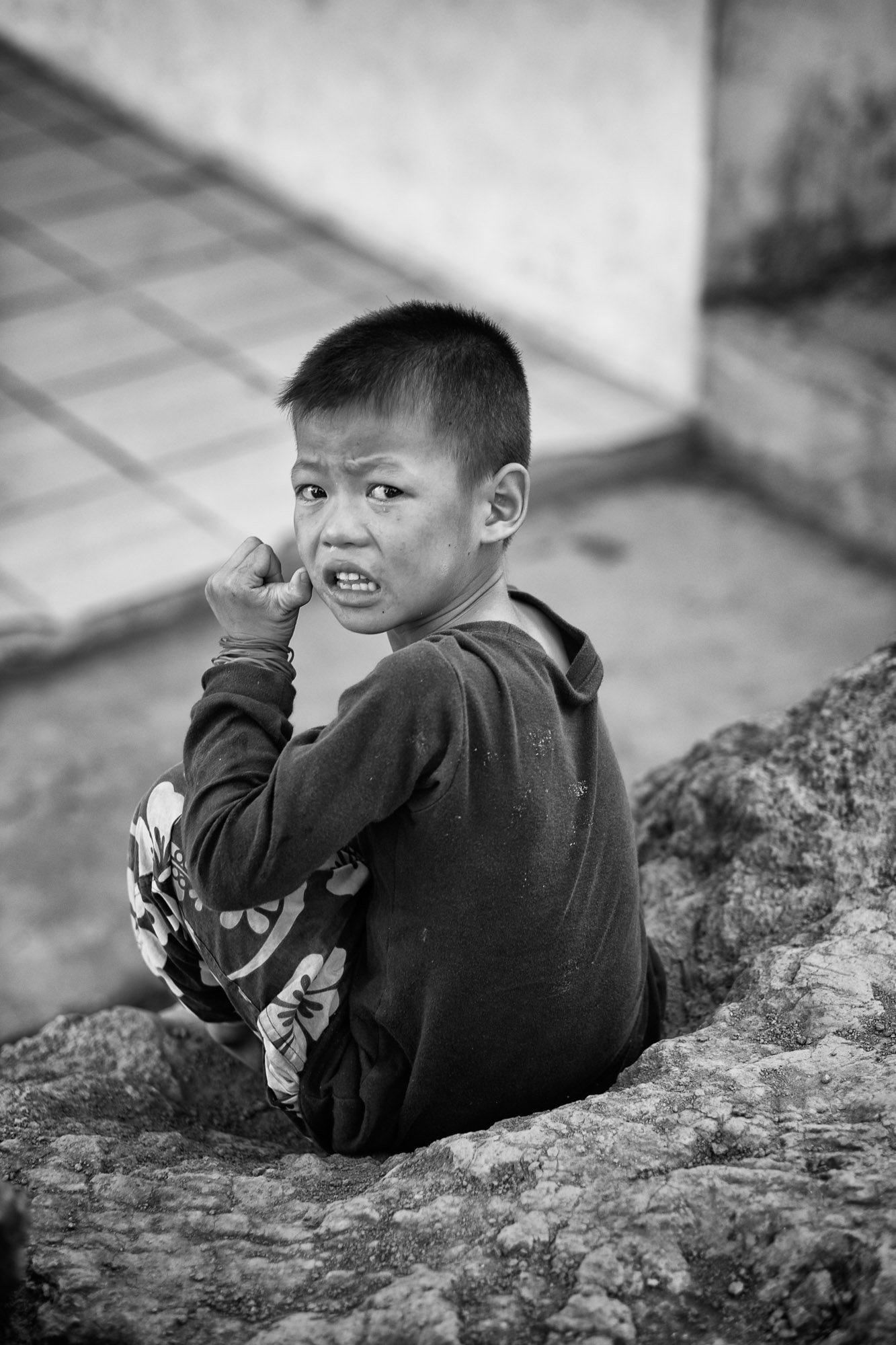 Travel, Documentary, Hill Tribe, Thailand, Photography kid boy