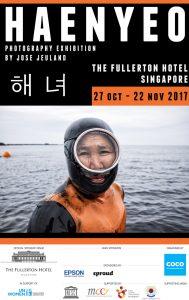 Haenyeo Photography exhibition The Fullerton Hotel