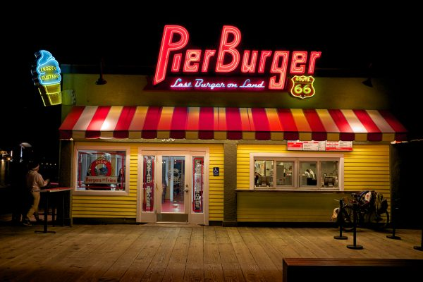 pier burger santa monica LOS ANGELES california united stated usa street photography