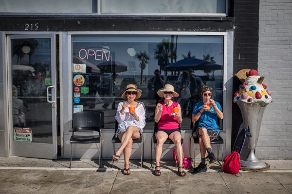 venice beach ice cream LOS ANGELES california united stated usa street photography
