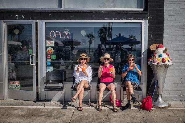 venice beach ice cream LOS ANGELES california united stated usa street photography