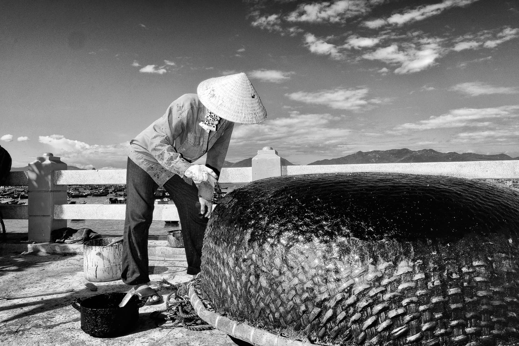 NHA TRANG vietnam asia street photography fishing boat