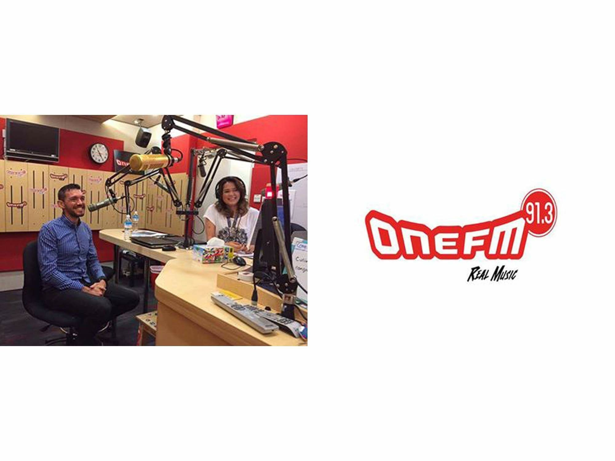 ONE FM 91.3 Radio-jose-jeuland-Cheryl