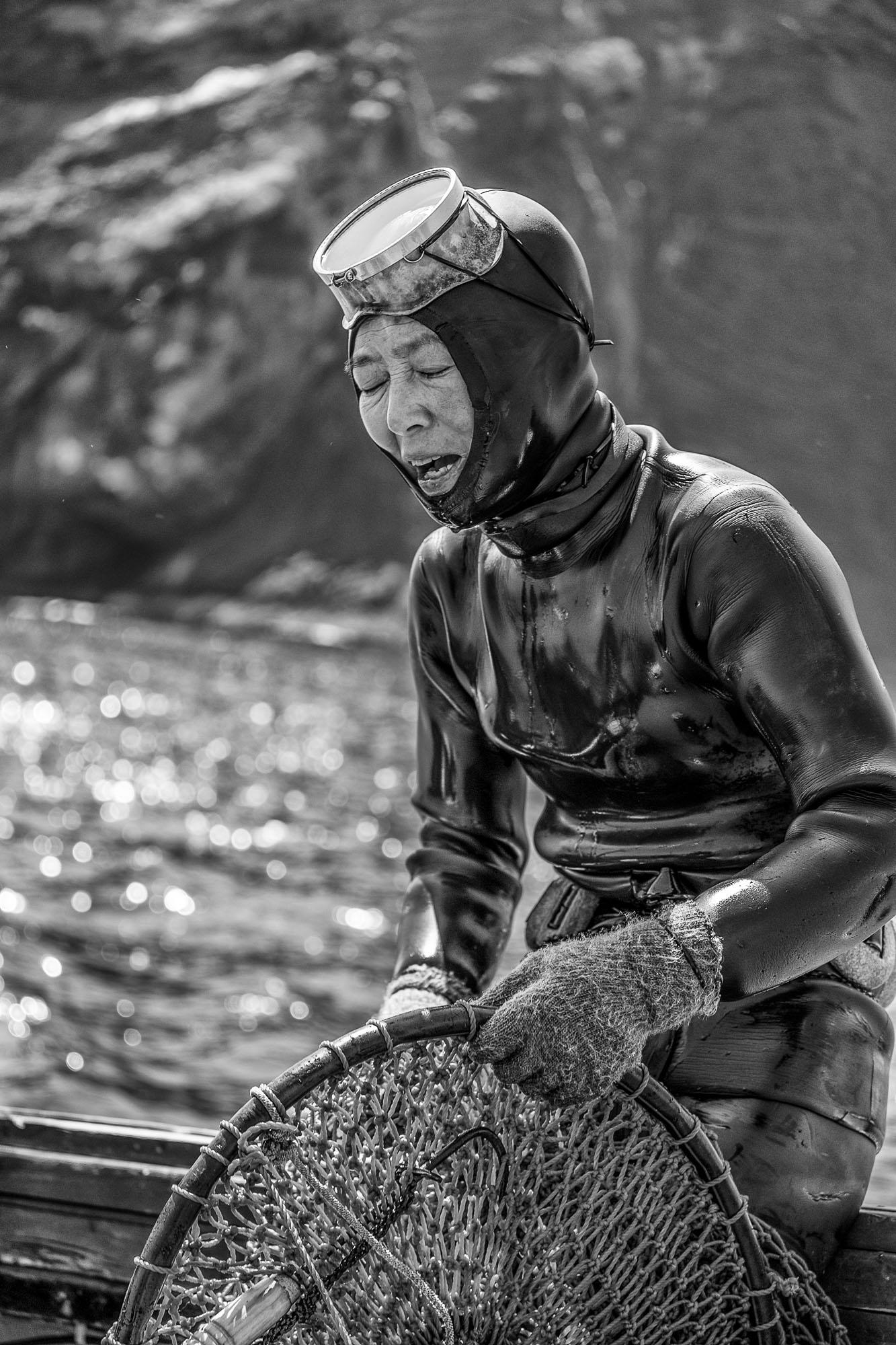 Haenyeo Divers Jeju island photography korea Jose Jeuland PORTRAIT-07