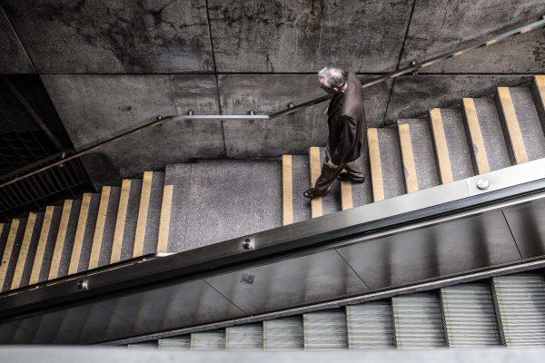 metro station subway SAN FRANCISCO california ca untited states usa street photography