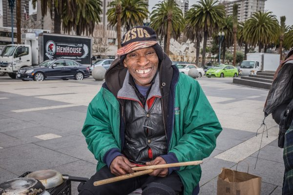music drums SAN FRANCISCO california ca untited states usa street photography