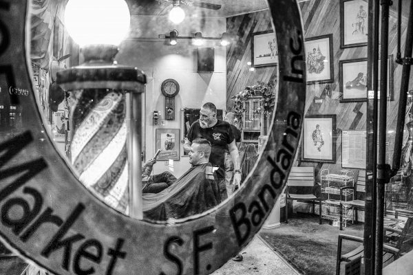 barber sf castro SAN FRANCISCO california ca untited states usa street photography