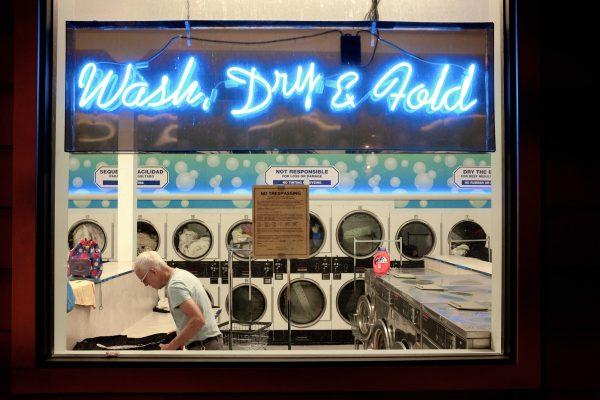 castro wash dry hold SAN FRANCISCO california ca untited states usa street photography