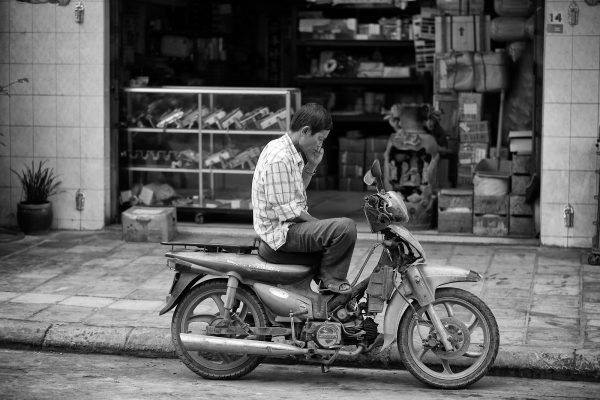 SIEM REAP cambodia asia street photography motor shop city