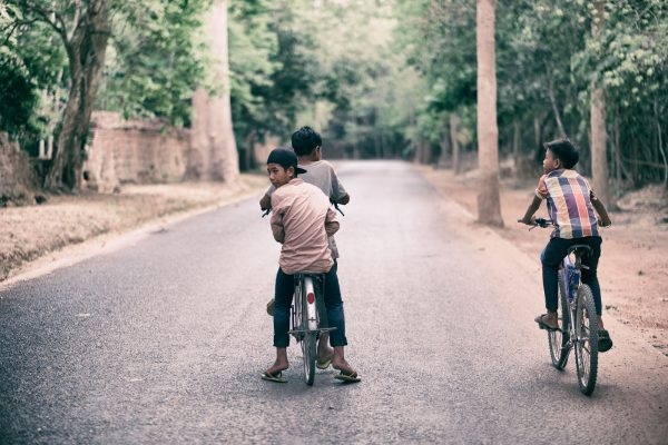 angkor wat temple bike cycling SIEM REAP cambodia asia street photography