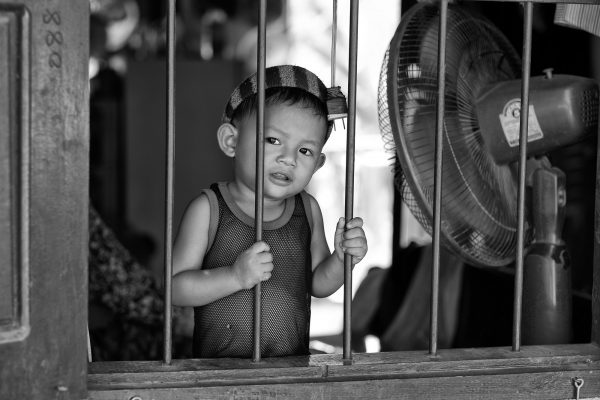 little boy SIEM REAP cambodia asia street photography