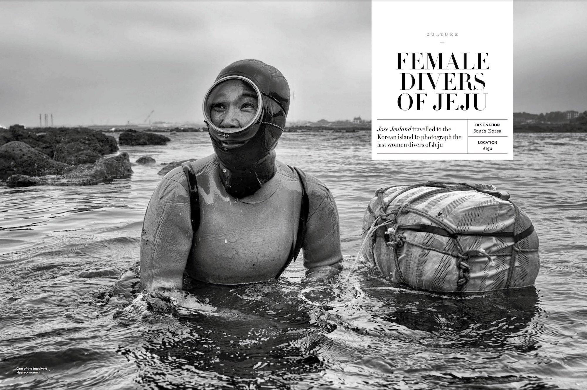 TRAVEL, LIGHTFOOT, Magazine, Jose, Jeuland, Haenyeo, reportage, jeju, south, Korea, photography, photo, photographer, women, diver,