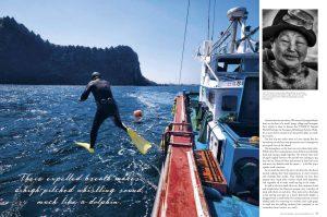 TRAVEL, LIGHTFOOT, Magazine, Jose, Jeuland, Haenyeo, reportage, jeju, south, Korea, photography, photo, photographer, women, diver,