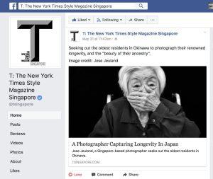 New, York, Times, Style, Magazine, Singapore, Jose, Jeuland, Japan, Okinawa, photography, Old, Folks, Centenarian,