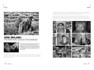 Topical Life Magazine jose jeuland Photographer singapore black white pictures