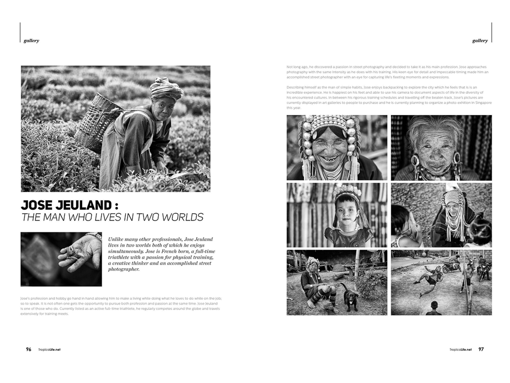 Topical Life Magazine jose jeuland Photographer singapore black white pictures