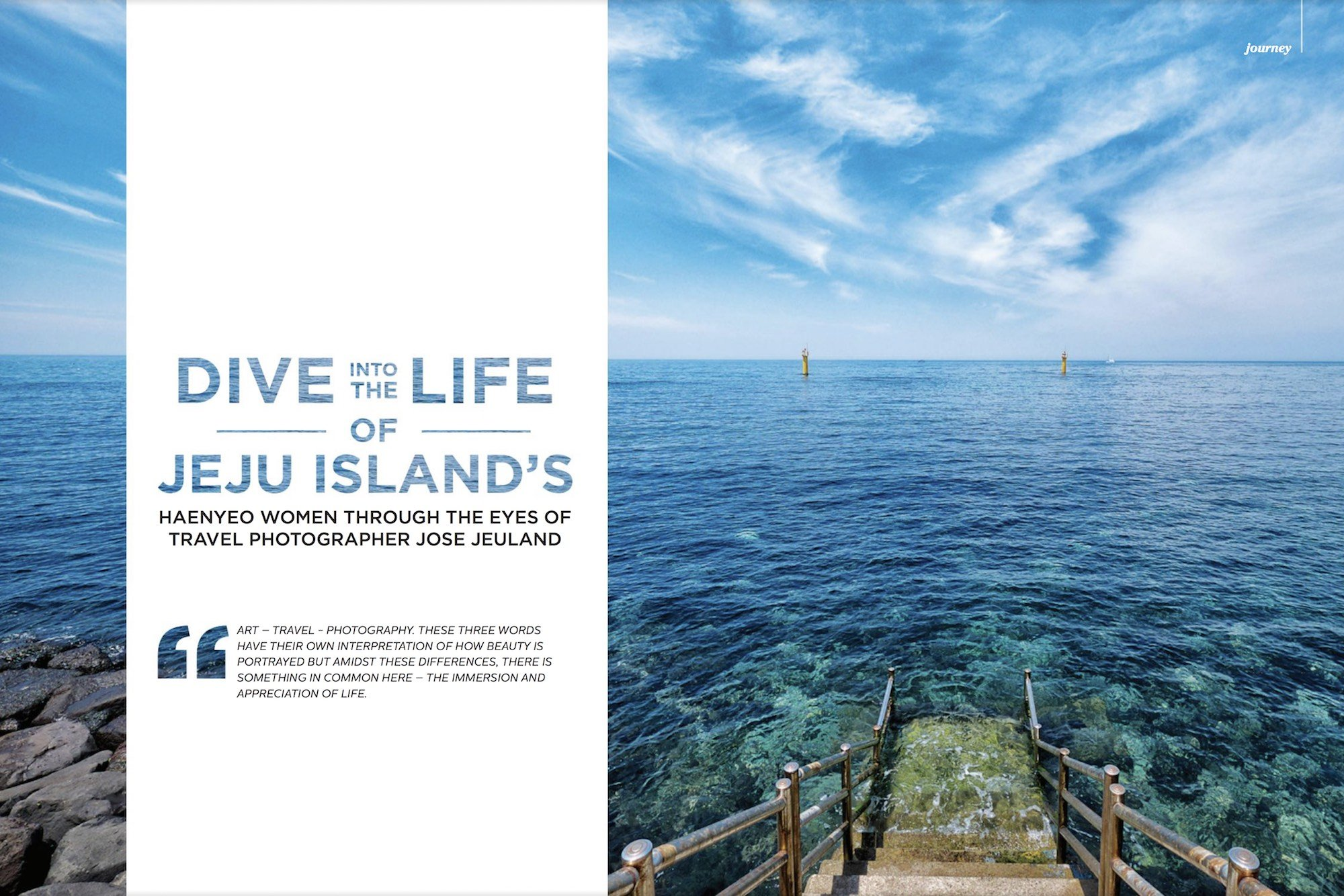 Tropical, Life, Magazine, Jose, Jeuland, Haenyeo, reportage, jeju, south, Korea, photography, photo, photographer, women, diver,