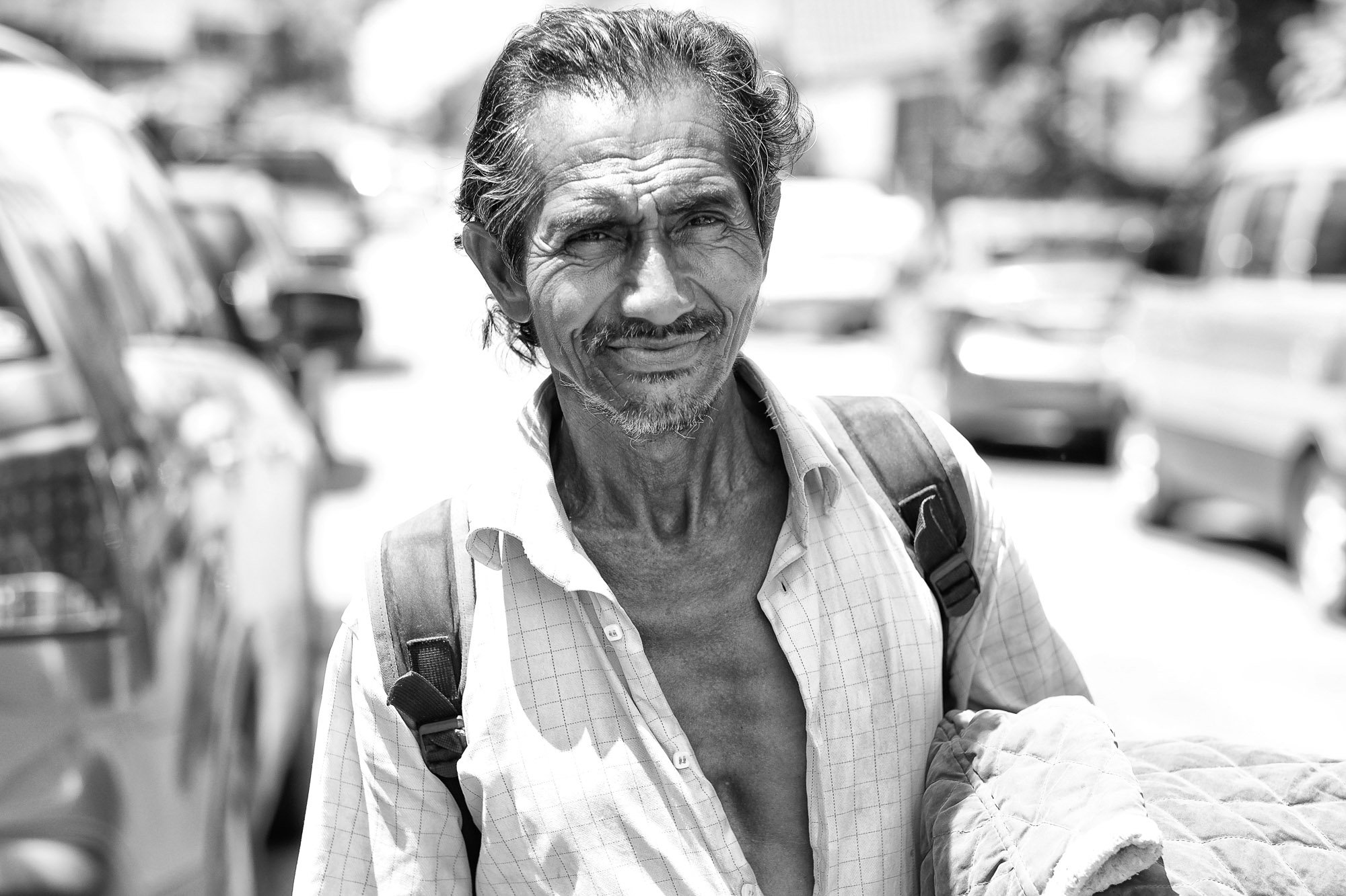 man hot day VIENTIANE Laos asia street photography photographer
