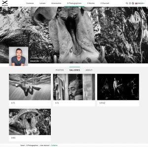 mirroless camera Fujifilm x photographer jose jeuland
