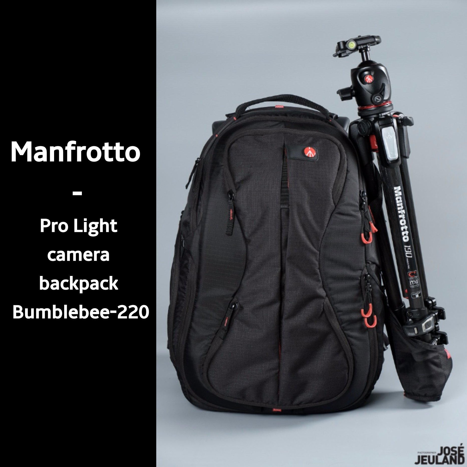 Product Review: the Manfrotto '' Pro Light camera backpack Bumblebee-220 ''