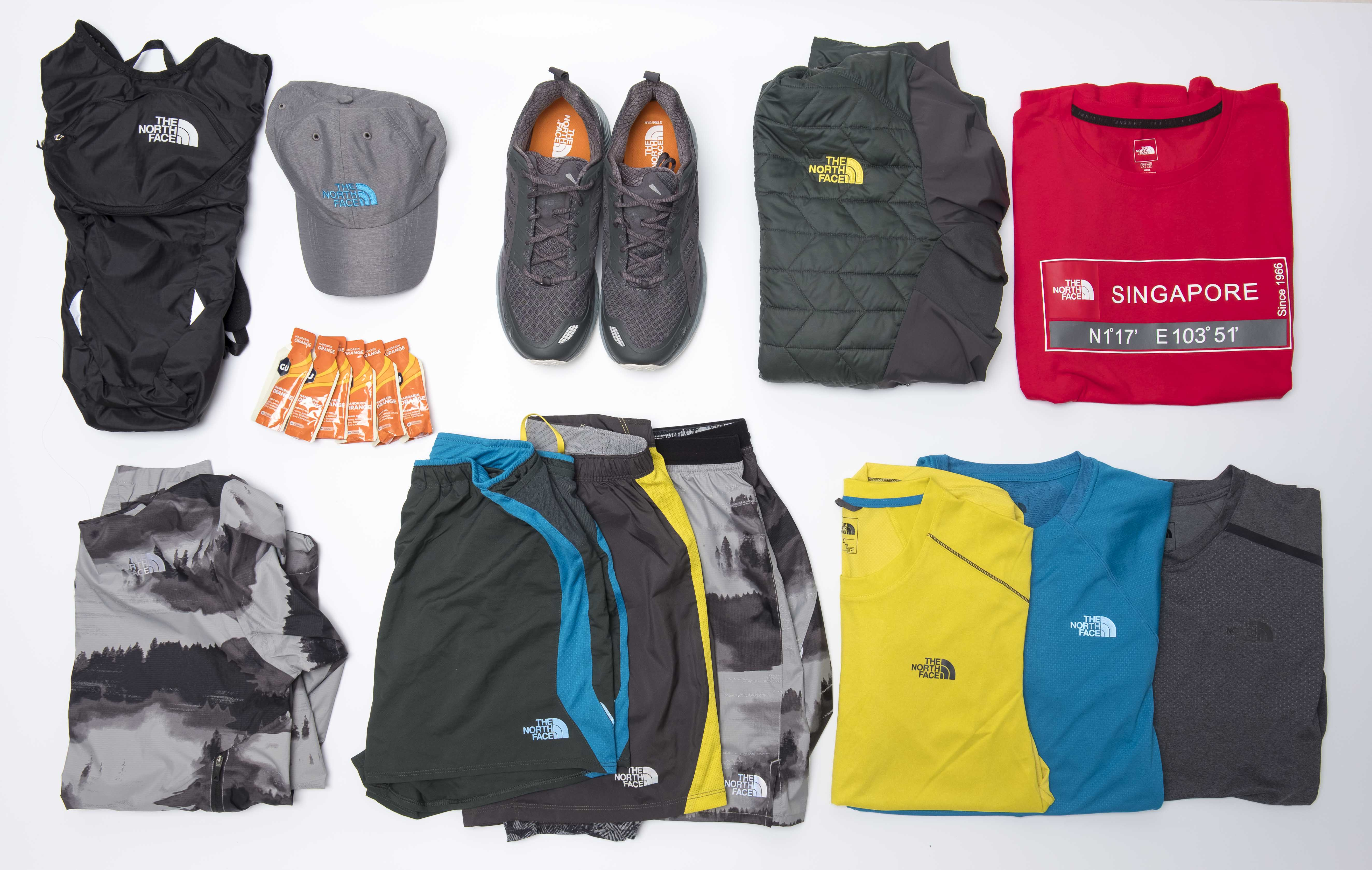 Pre-events : The North Face products for my DMZ Trail Running race