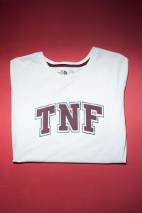 A white T with the TNF logo in red - product review - The North Face-5.jpg