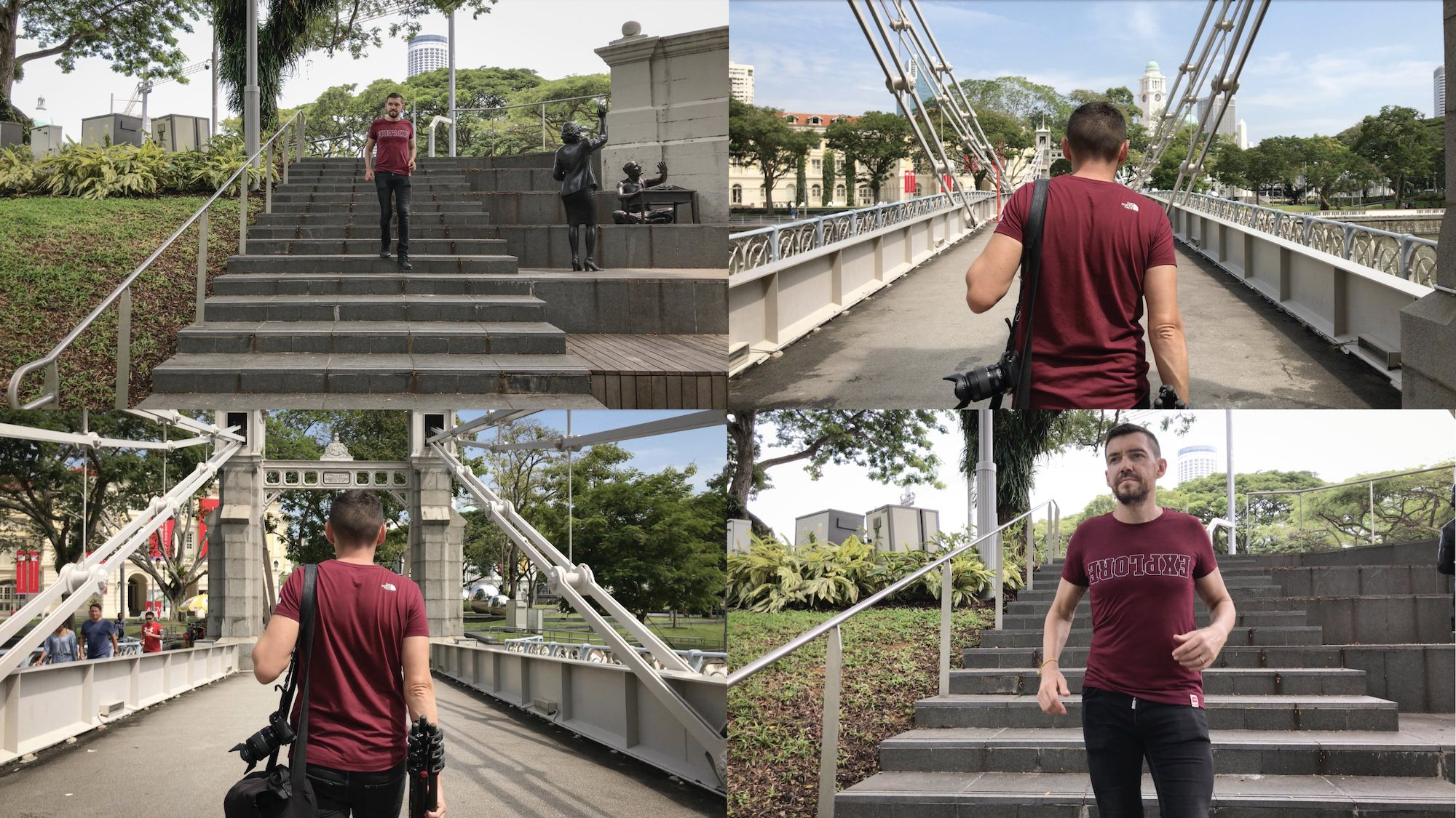 The North Face product review Sinagpore - Tee explore