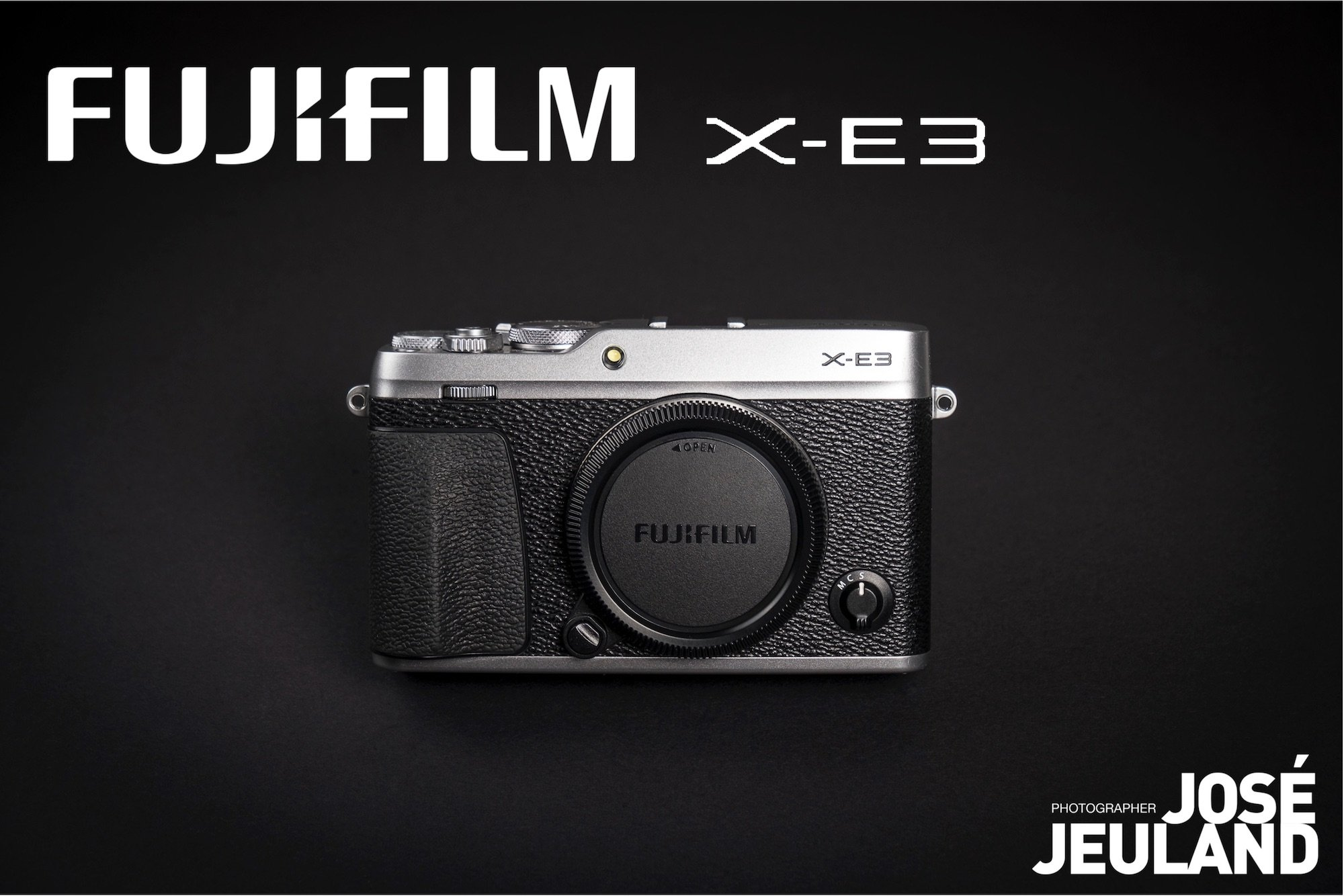 FUJIFILM X-E3 photo camera - Jose Jeuland web