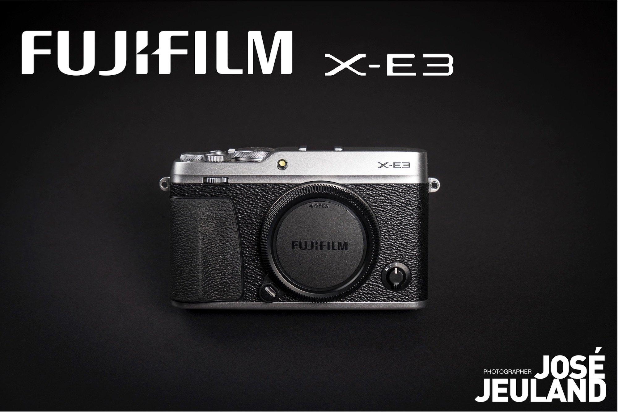 FUJIFILM X-E3 photo camera - Jose Jeuland web