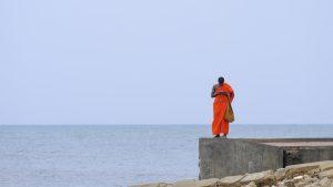 Kerimalai photography travel sri lanka buddhist orange ocean fujifilm xe3