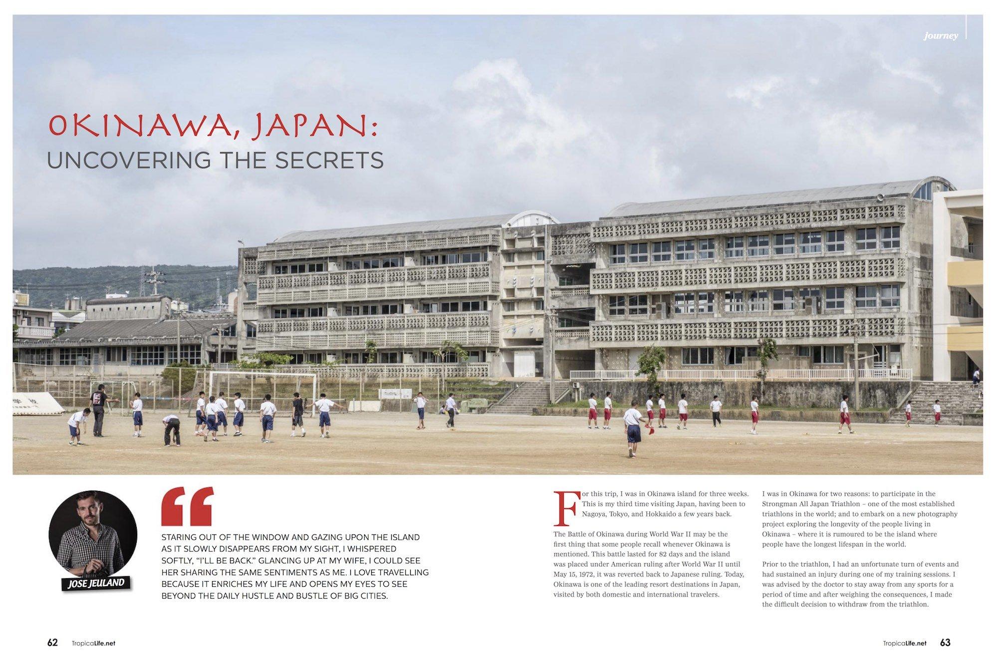 Tropical Life Magazine Travel Journey Okinawa Japan Jose Jeuland