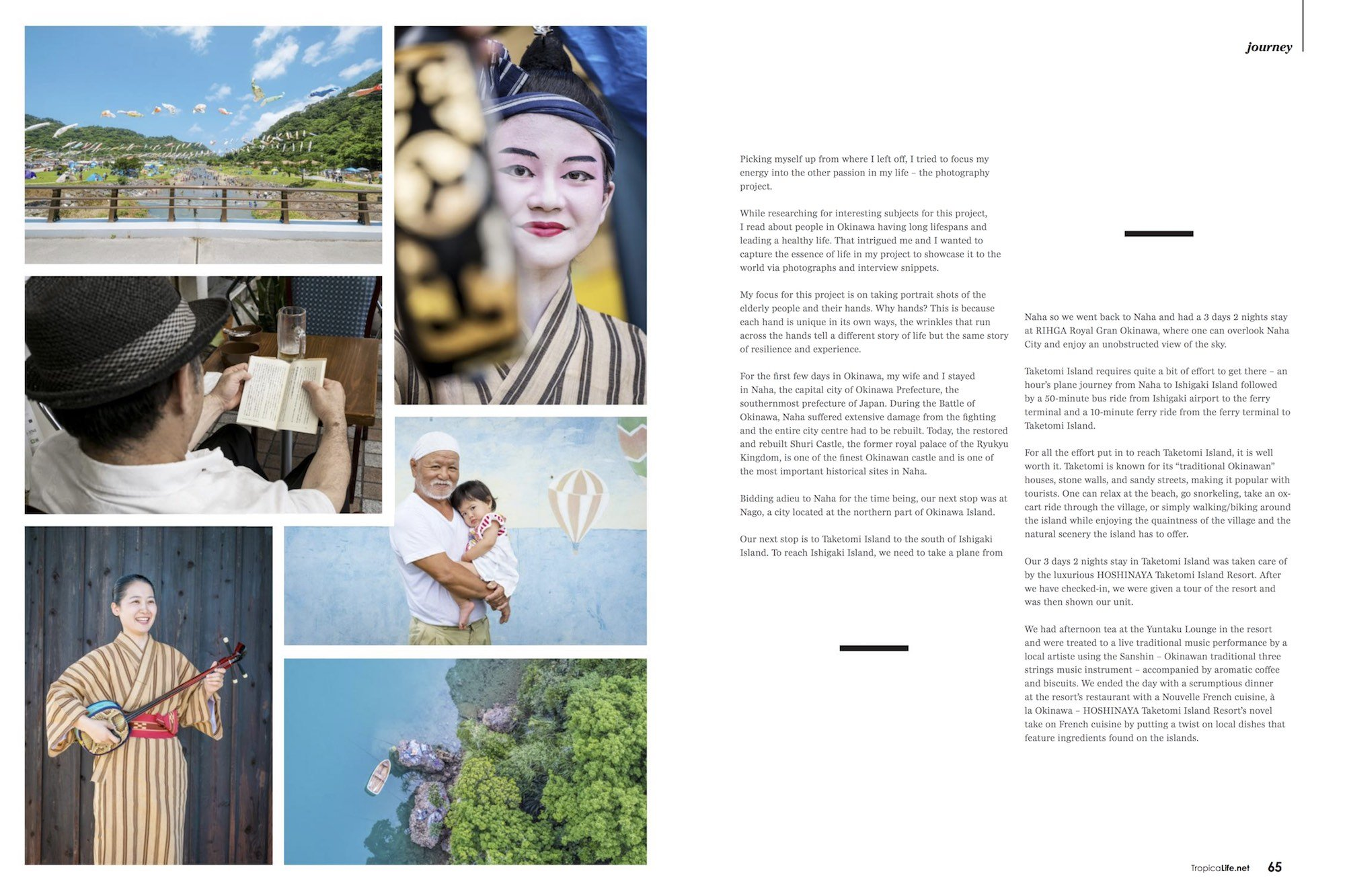 Tropical Life Magazine Travel Journey Okinawa Japan Jose Jeuland photographer Singapore