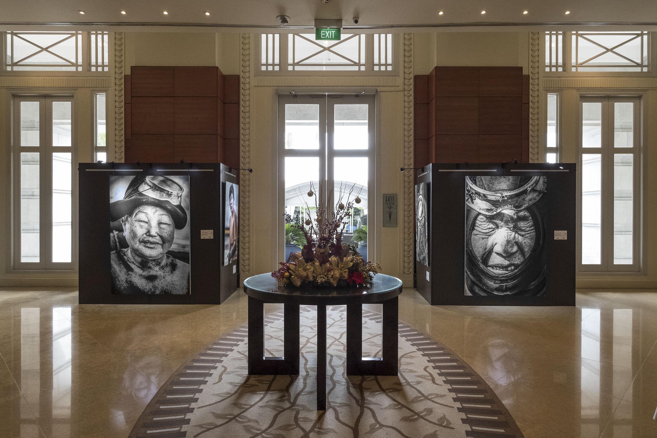 Fullerton Hotel exhibition singapore Epson-printer-fine-art-jose-jeuland