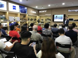 Cathay Photo Manfrotto photography talk jose jeuland singapore store shop