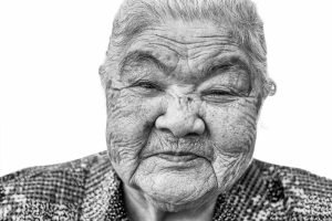 Longevity Okinawa Japan Centenarians Health Jose Jeuland photography portrait old folks veteran senior