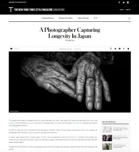 Longevity Okinawa people old folks health Japan Centenarians The New York Times Jose Jeuland