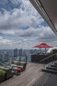 Travel hospitality interior hotel resort photography photographer singapore asia luxury ce la vi rooftop roof bar club restaurant best view city
