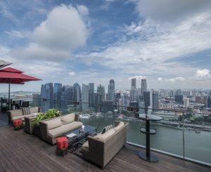 Travel hospitality interior hotel resort photography photographer singapore asia luxury ce la vi rooftop roof bar club restaurant best view city