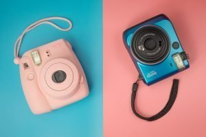 Intax mini 8 70 pink bleu singapore fujifilm product photography commercial photographer sg photoshoot